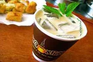 """кофе """"Мокко"""" с мятой и со льдом"""